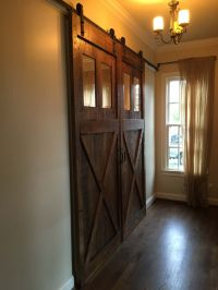 Buy Hand Crafted Rolling Barn Doors, made to order from ...