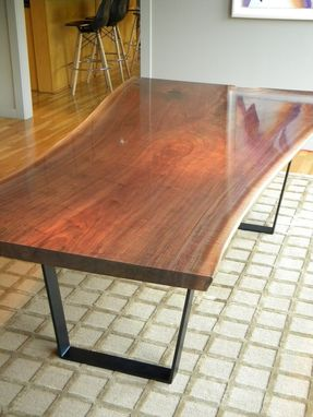 Hand Crafted Live Edge Walnut Dining Table By North Texas Wood Works