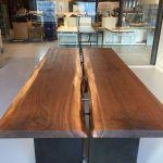 Custom Live Edge Conference Table By Greg Pilotti Furniture Maker Custommade Com