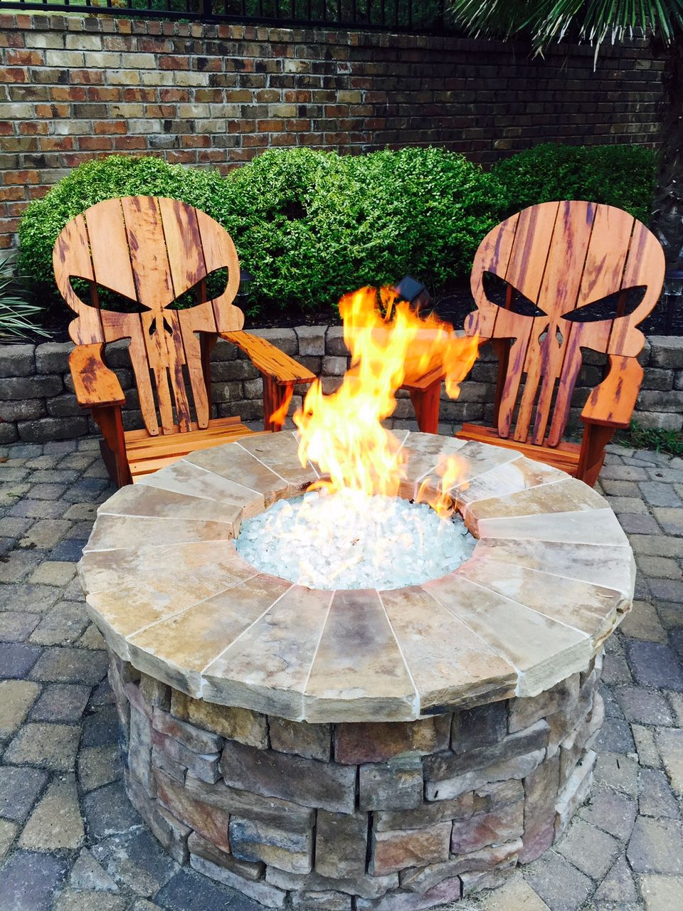 diy adirondack chair kit restoration hardware leather chairs buy a custom skull made to order from carolina