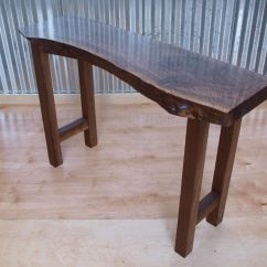 Sofas Tables Shallow Seat Depth Sofa Buy A Custom Made Live Edge Walnut Console Table To
