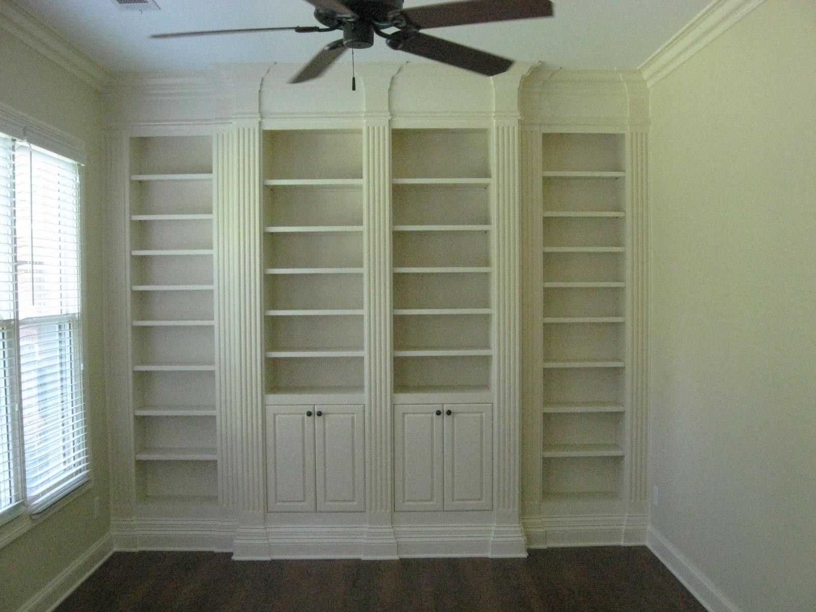 living room shelves and cabinets leather sets for cheap custom bookcase with fluted columns by cristofir bradley ...