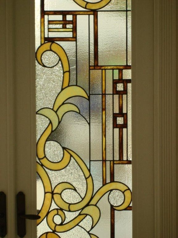 Hand Made Stained Glass Entry Doors And Cabana Doors By
