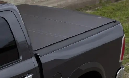 Lomax Hard Tri Fold Tonneau Cover Dodge Ram 1500 57 Short