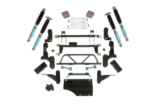 small resolution of superlift 5 7 adjustable lift kit 93 95 k2500 k3500 8 lug 4wd w bilstein shocks