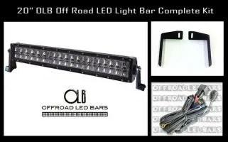 20 Inch Offroad Led Light Bar Bumper Kit For 20075 2013