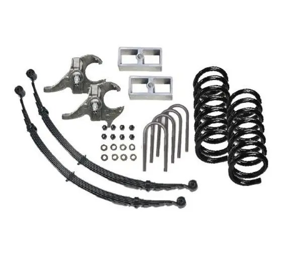 Mcgaughy Lowering Kit For Chevy S10 Gmc Sonoma Extended Cab