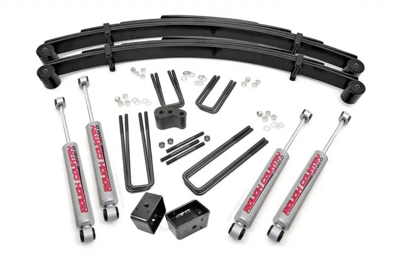 Rough Country 4in Ford Suspension Lift Kit