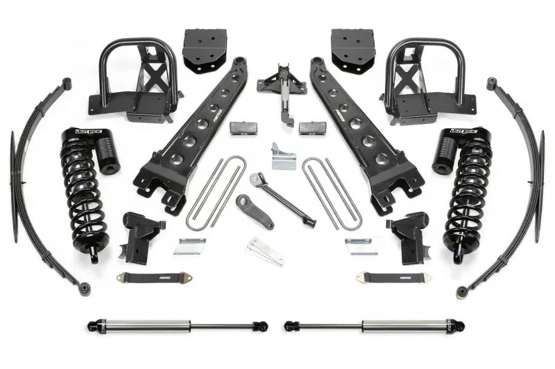 Fabtech 10 Radius Arm System W Dirt Logic Ss 40 Coilovers