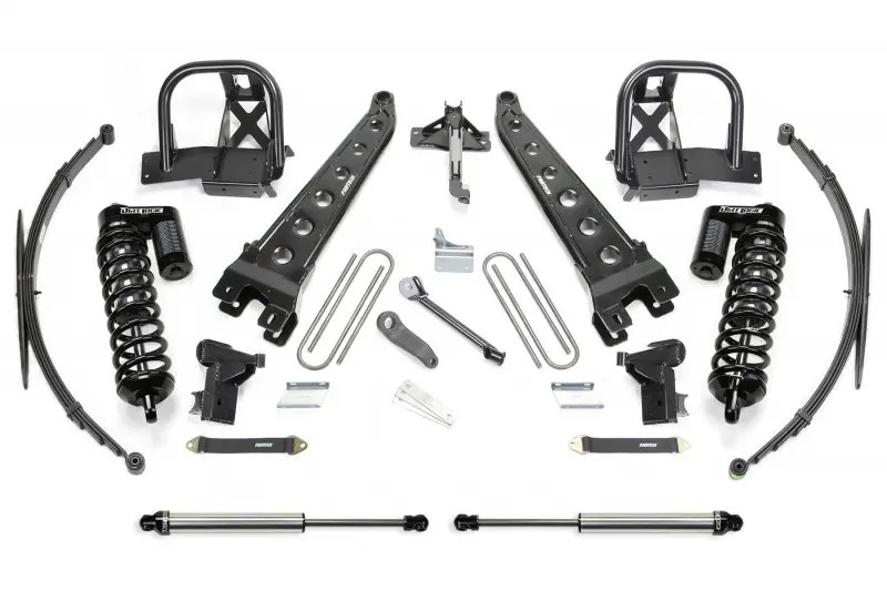 Fabtech 8 Radius Arm System W Dirt Logic Ss 40 Coilovers