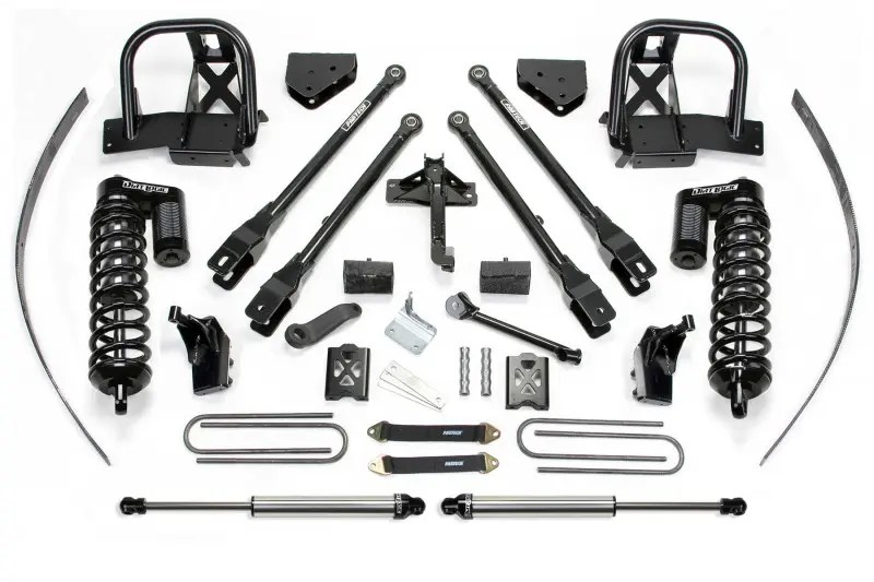 Fabtech 8 4 Link System W Dirt Logic Ss 40 Coilovers Rear