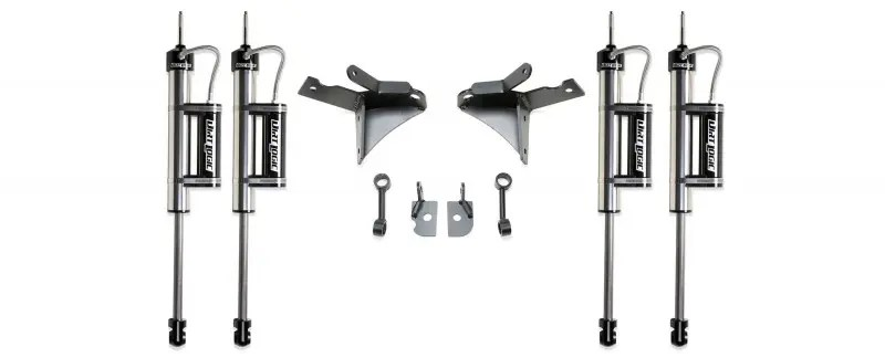 Fabtech 7 Dual Shock Kit W Dirt Logic 225 Resi Shocks 2014