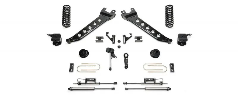 Fabtech 7 Radius Arm System W Coil Springs Front Dirt