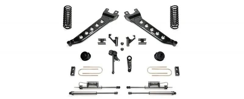 Fabtech 5 Radius Arm System W Coil Springs Dirt Logic Ss