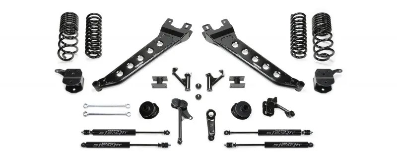 Fabtech 7 Radius Arm System W Coil Springs Stealth Shocks