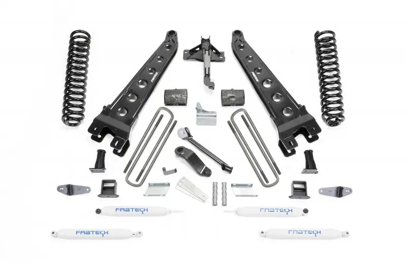 6 Radius Arm System W Performance Shocks 2008 10 Ford F450