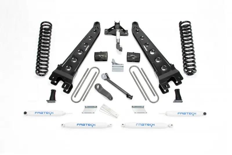 Fabtech 6 Radius Arm System W Performance Shocks 2008 16