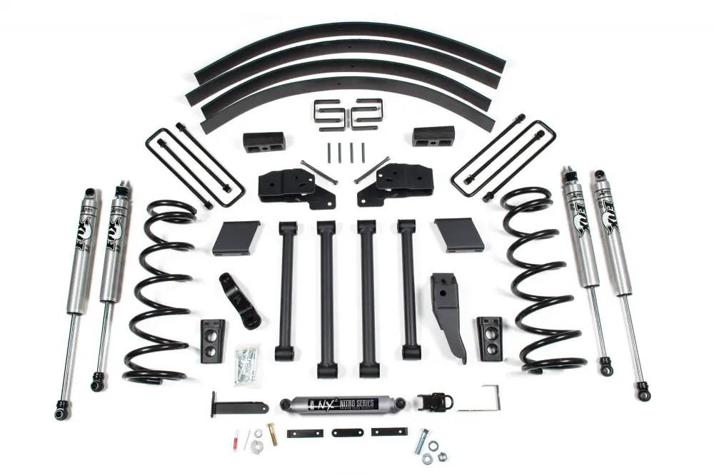 Bds Suspension 5 Suspension Lift Kit Dodge 3 4 1 Ton 4wd