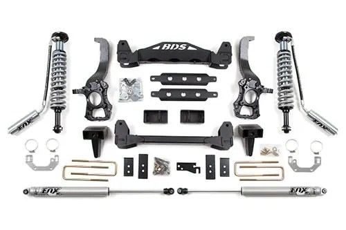 Bds Suspension 6 Coil Over Lift Kit Ford F 150 2wd