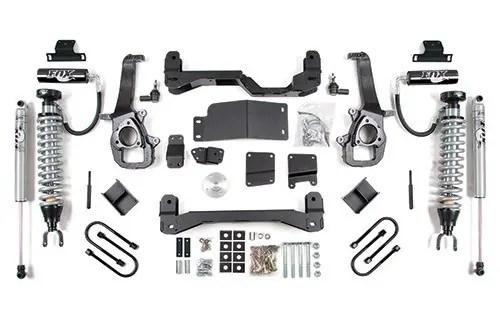 Bds Suspension 6 Coil Over Lift Kit 06 08 Dodge 1500 4wd