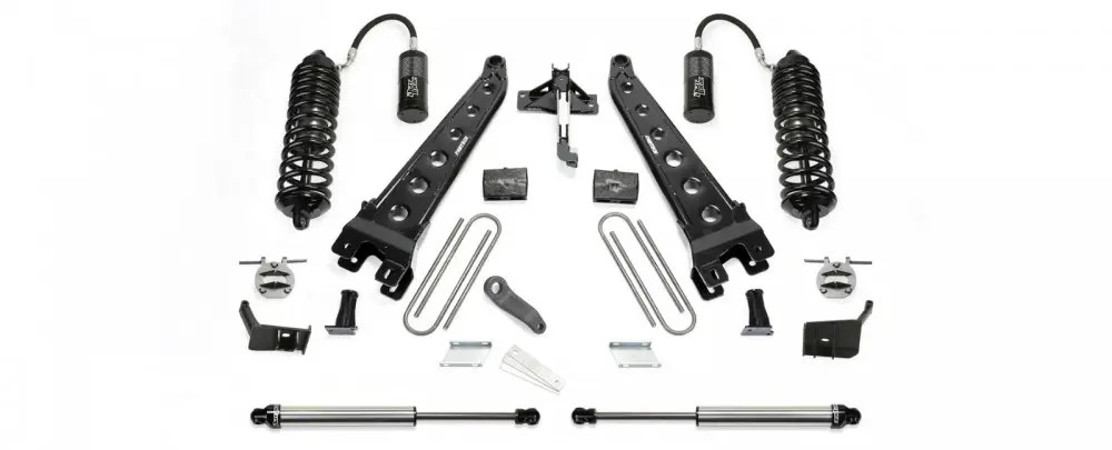 Fabtech 6 Radius Arm System W Front Dirt Logic 40 Resi