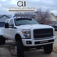 Custom Offsets | Does 50 Offroad LED Light Bar clear cab ...