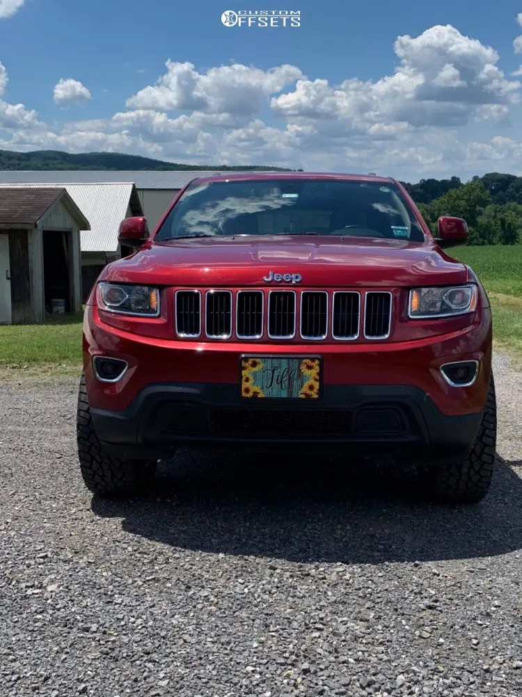 2014 Jeep Grand Cherokee Lifted : grand, cherokee, lifted, Grand, Cherokee, Wheel, Offset, Aggressive, Outside, Fender, Suspension, 1139412, Custom, Offsets