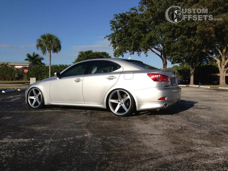 2010 Lexus Is250 Concavo Wheels Cw5 Lowered On Springs