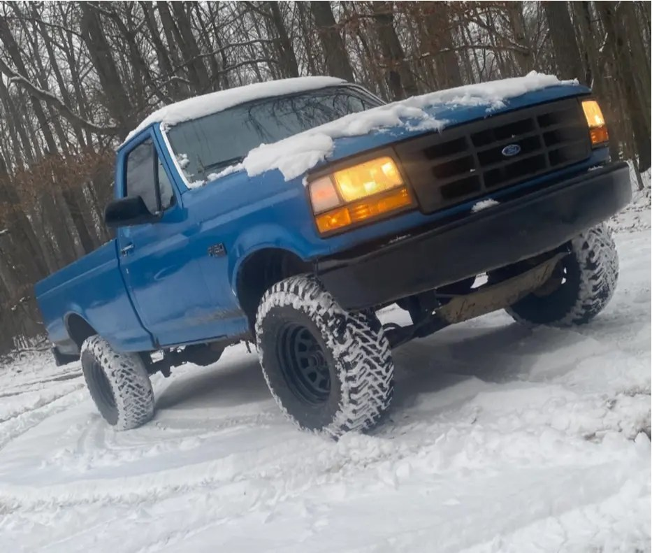 1994 F150 Lifted : lifted, F-150, Wheel, Offset, Nearly, Flush, Suspension, 1505812, Stance