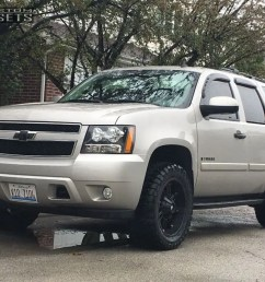 1 2007 tahoe chevrolet leveling kit adr thunder black aggressive 1 outside fender  [ 1000 x 799 Pixel ]