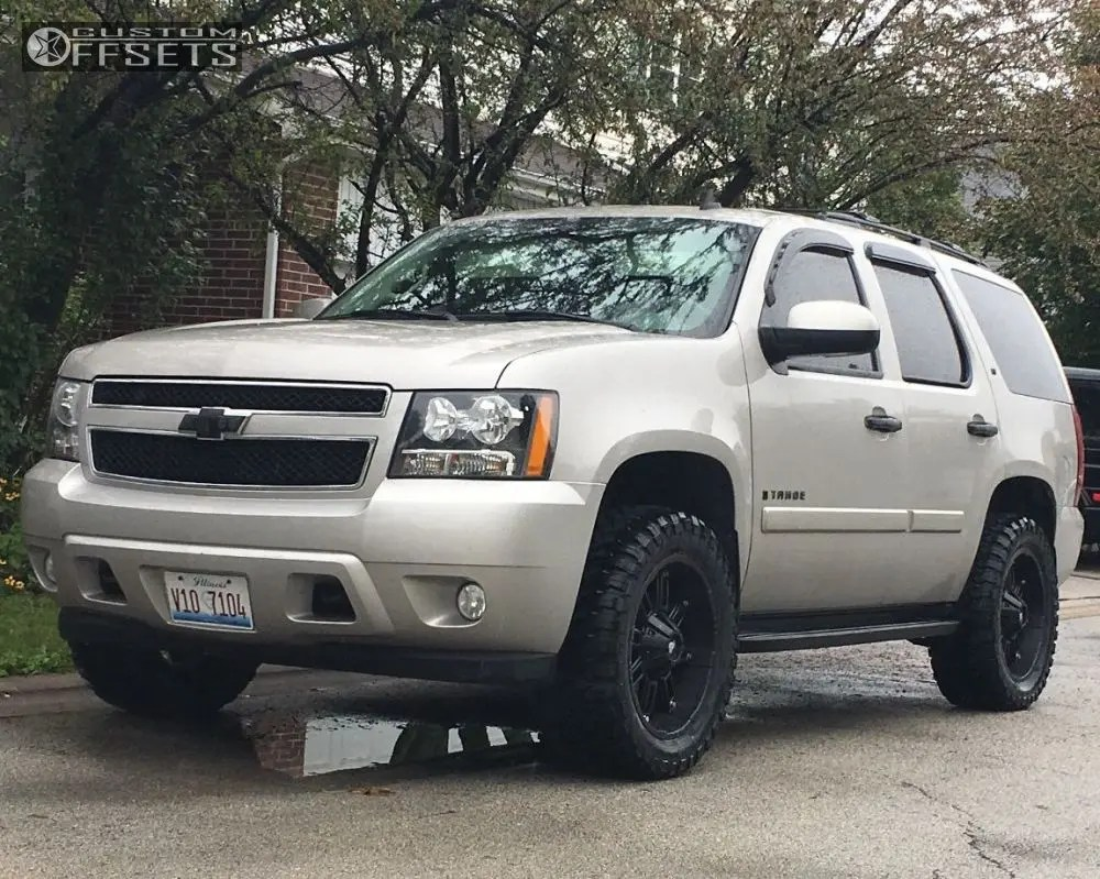medium resolution of  1 2007 tahoe chevrolet leveling kit adr thunder black aggressive 1 outside fender