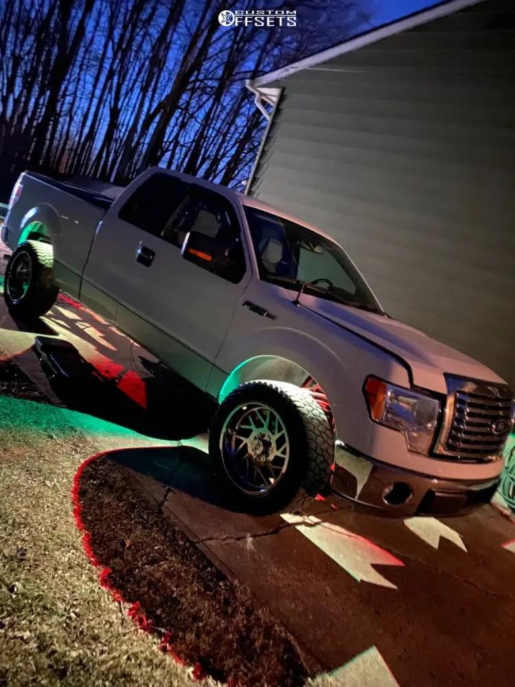 2011 Ford F150 Rims : F-150, Wheel, Offset, Aggressive, Outside, Fender, Stock, 1555258, Custom, Offsets