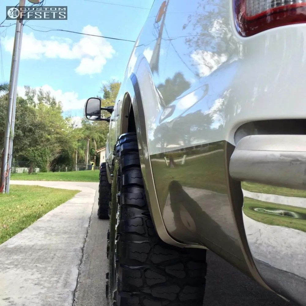 hight resolution of 3 2006 f 350 super duty ford leveling kit ford f350 king ranch polished flush