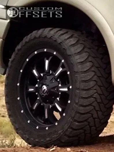 2000 Ford F150 Wheels : wheels, F-150, Wheel, Offset, Flush, Leveling, 16781, Custom, Offsets