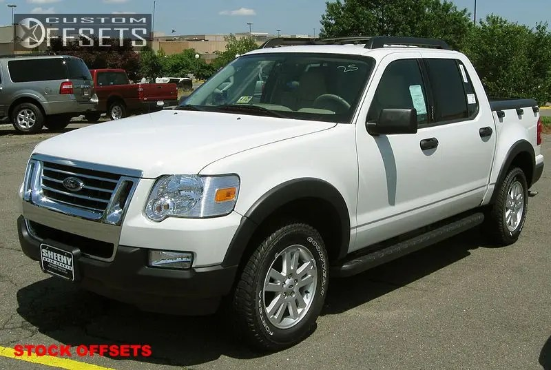 2007 Ford Explorer Sport Trac Suspension