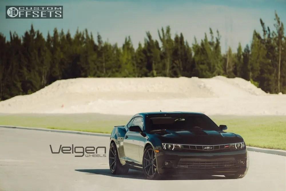 2014 Chevrolet Camaro Velgen Vmb8 Eibach Lowered On Springs Custom