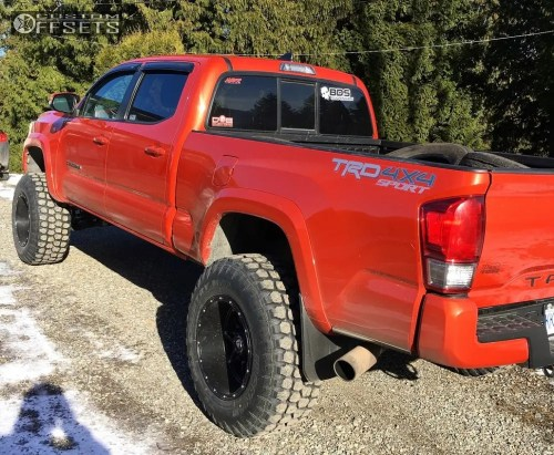 small resolution of  14 2016 tacoma toyota suspension lift 7 fuel hostage black super aggressive 3 5