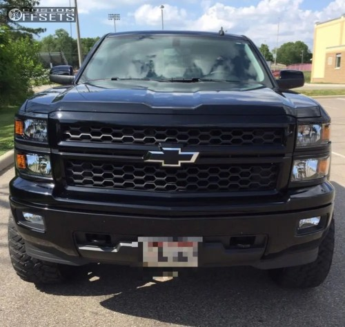 small resolution of 2 2014 silverado 1500 chevrolet suspension lift 6 fuel d538 black aggressive 1 outside fender