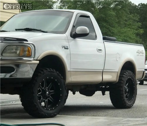 small resolution of  1 1997 f 150 ford leveling kit fuel maverick matte black slightly aggressive