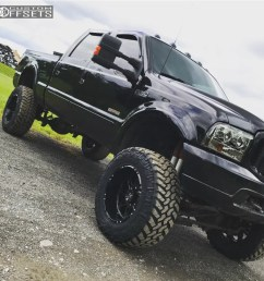 1 2003 f 350 super duty ford suspension lift 6 hostile havoc black aggressive 1 outside [ 1000 x 998 Pixel ]