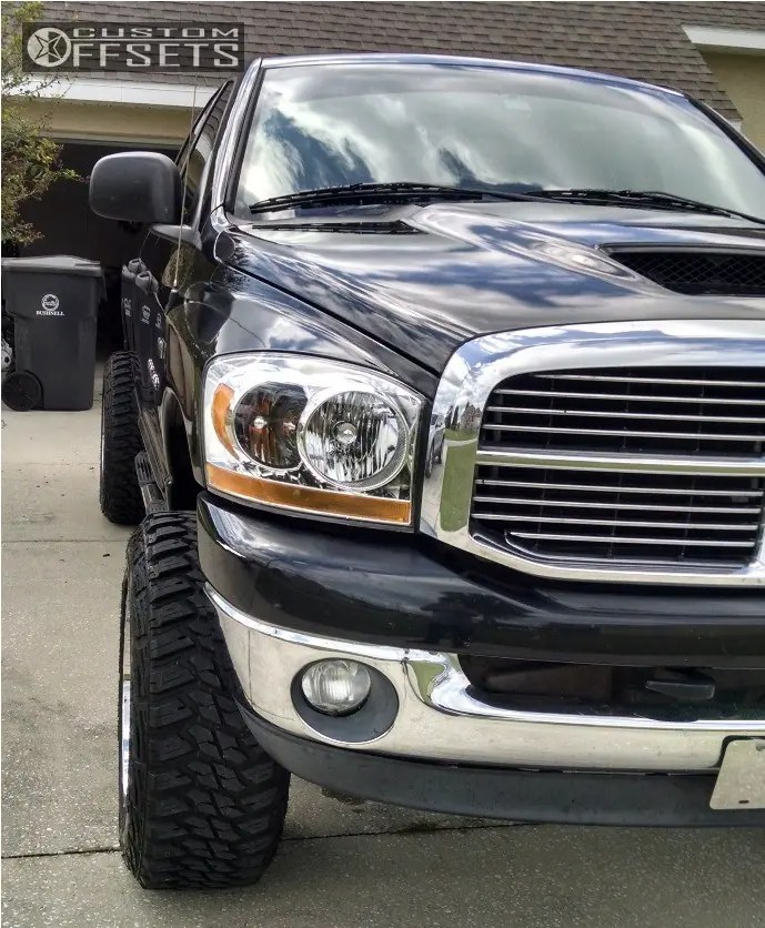 Custom 2006 Dodge Ram 1500 : custom, dodge, Dodge, Wheel, Offset, Super, Aggressive, 3