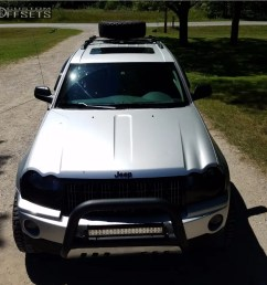 15 2006 grand cherokee jeep rough country leveling kit tuff t10 black [ 1000 x 977 Pixel ]