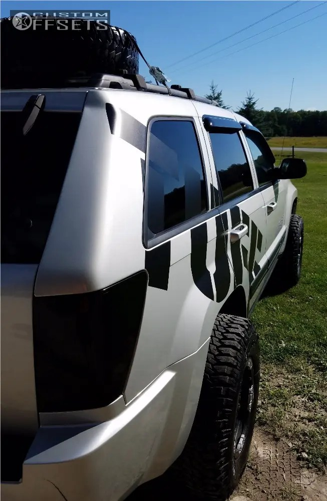 Jeep Grand Cherokee Leveling Kits : grand, cherokee, leveling, Grand, Cherokee, Wheel, Offset, Super, Aggressive, 3
