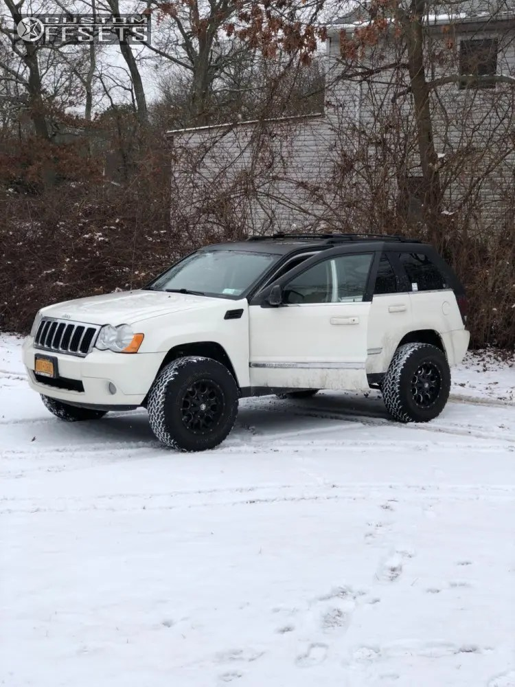 Jeep Grand Cherokee Leveling Kits : grand, cherokee, leveling, Mayhem, Warrior, Black, Milled, 8015-7956M18, Custom, Offsets