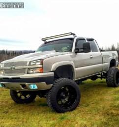 1 2005 silverado 1500 chevrolet suspension 6 body 3 fuel octane black hella stance 5 [ 1000 x 1000 Pixel ]