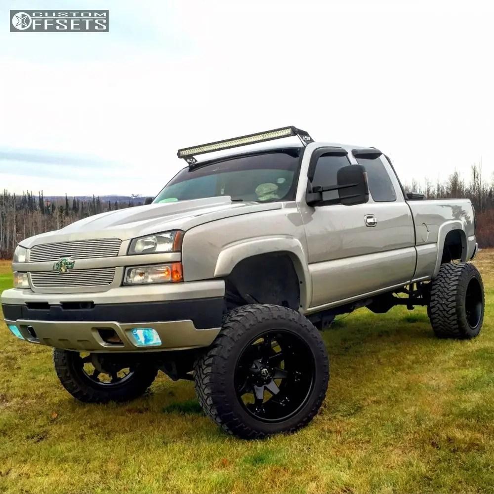hight resolution of 1 2005 silverado 1500 chevrolet suspension 6 body 3 fuel octane black hella stance 5