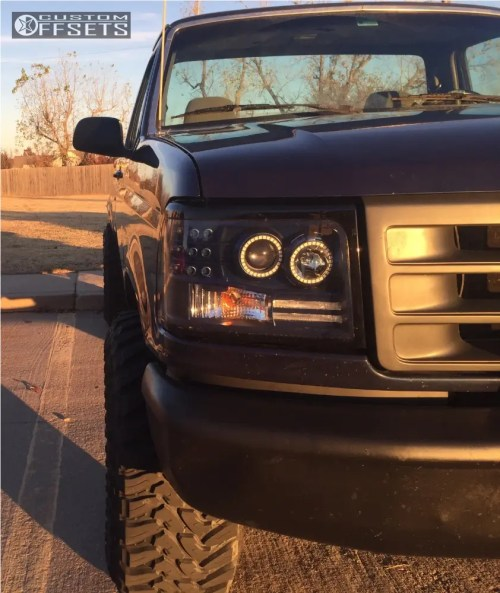 small resolution of 12 1994 f 150 ford rough country suspension lift 25in method double standard matte black