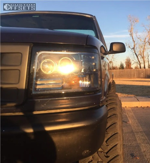small resolution of 13 1994 f 150 ford rough country suspension lift 25in method double standard matte black