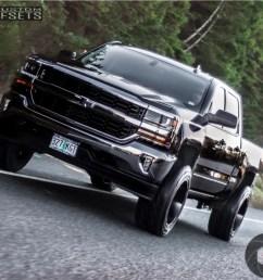 8 2018 silverado 1500 chevrolet fabtech suspension lift 4in hostile stryker black [ 1000 x 882 Pixel ]