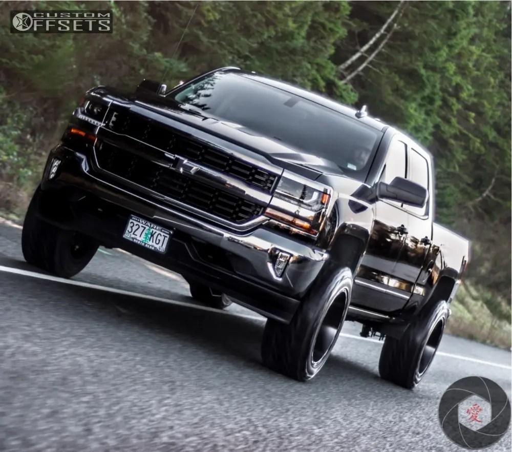 medium resolution of 8 2018 silverado 1500 chevrolet fabtech suspension lift 4in hostile stryker black
